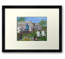 Bud & Sue's Haven Framed Print