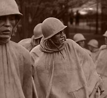 Washington D.C. - Korean War memorial by DKphotoart