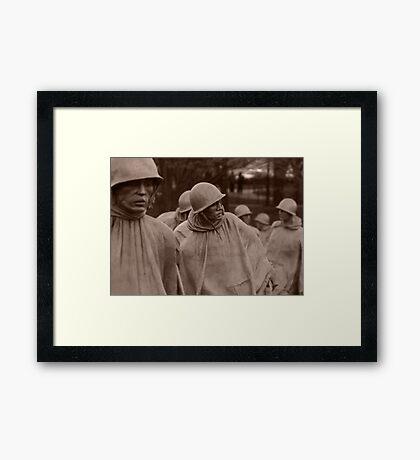 Washington D.C. - Korean War memorial Framed Print