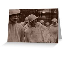Washington D.C. - Korean War memorial Greeting Card