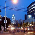 Lamar Street in motion. by leftyanasazi