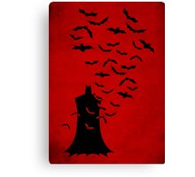 Rise of  the bats Canvas Print