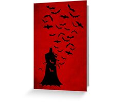 Rise of  the bats Greeting Card