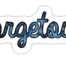 Georgetown Tie Dye Sticker