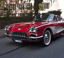 corvette in Lucern by doug hunwick