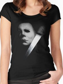 The Boogeyman Women's Fitted Scoop T-Shirt