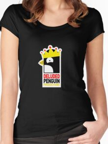 Deluded Penguin Shirt Women's Fitted Scoop T-Shirt