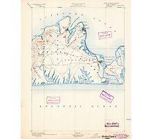 Massachusetts  USGS Historical Topo Map MA Marthas Vineyard 352838 1894 62500 Photographic Print
