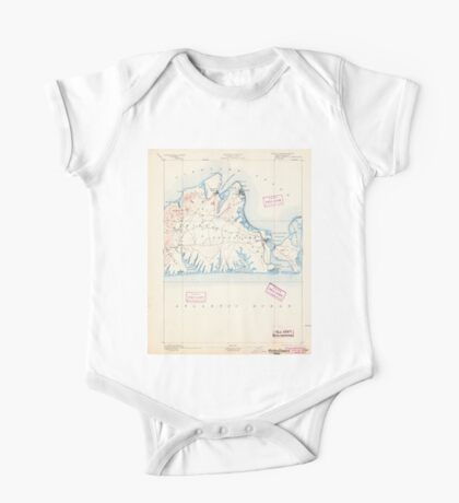 Massachusetts  USGS Historical Topo Map MA Marthas Vineyard 352838 1894 62500 One Piece - Short Sleeve