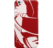 Red Helmet iPhone Case/Skin