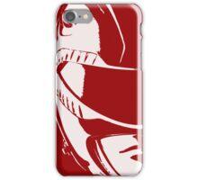 Red Helmet iPhone Case/Skin
