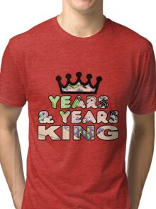 Years & Years King Tri-blend T-Shirt