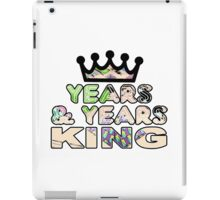 Years & Years King iPad Case/Skin