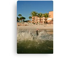 Clearwater channel Canvas Print