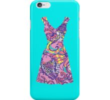 Lilly Pulitzer Inspired Dress Sea and Be Seen iPhone Case/Skin