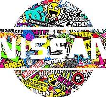 Nissan Stickerbomb by TylerMassey