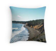 Oregon Coast View Throw Pillow