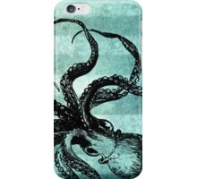 Blue Octopus iPhone Case/Skin