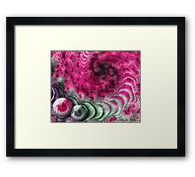 A Pink Attitude Framed Print