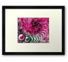 A Pink Attitude Framed Print