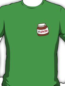 Cute Tumblr Nutella Pattern T-Shirt