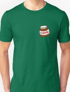 Cute Tumblr Nutella Pattern Unisex T-Shirt