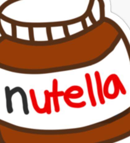 Cute Tumblr Nutella Pattern Sticker