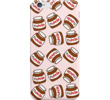 Cute Tumblr Nutella Pattern iPhone Case/Skin