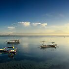 Sunrise at Sanur Beach by I Nengah  Januartha
