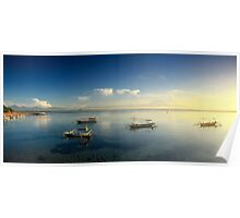 Sunrise at Sanur Beach Poster