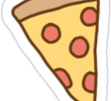 Cute Tumblr Pizza Pattern Sticker