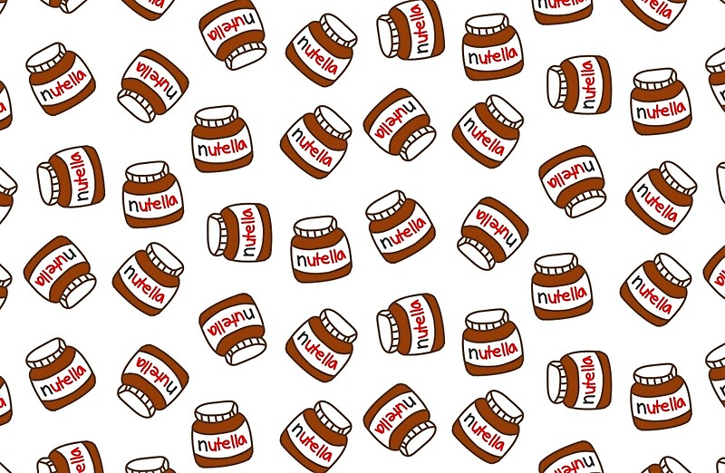 cute tumblr nutella pattern studio pouches by deathspell