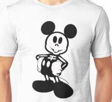 Skeleton Mouse Unisex T-Shirt