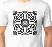 Black and white 1 Unisex T-Shirt