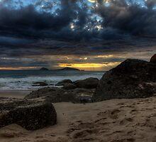 Norman Island Sunset by Greg Thomas