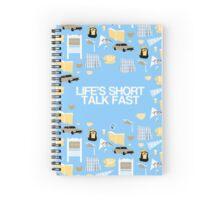 Life's Short. Talk Fast Spiral Notebook