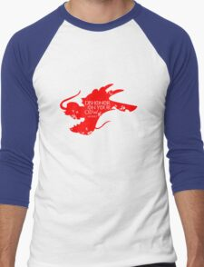 House Mushu Men's Baseball ¾ T-Shirt