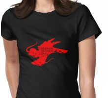 House Mushu Womens Fitted T-Shirt