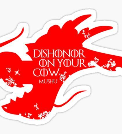 House Mushu Sticker