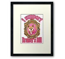 Bruiser's Bill Framed Print