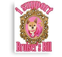 Bruiser's Bill Canvas Print