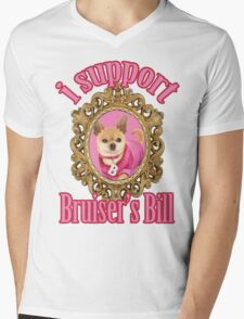 Bruiser's Bill Mens V-Neck T-Shirt