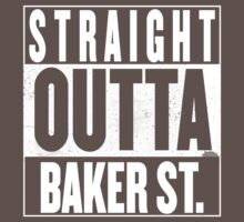 STRAIGHT OUTTA BAKER ST. Kids Clothes