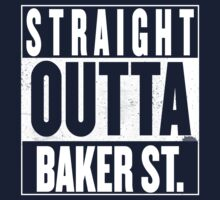 STRAIGHT OUTTA BAKER ST. Kids Tee