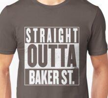 STRAIGHT OUTTA BAKER ST. Unisex T-Shirt