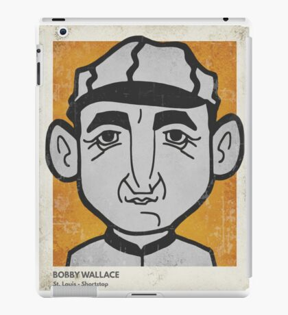 Bobby Wallace Caricature iPad Case/Skin