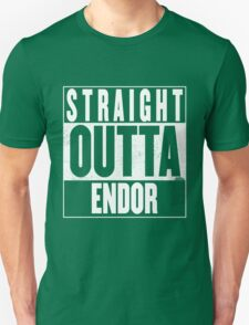 STRAIGHT OUTTA ENDOR Unisex T-Shirt