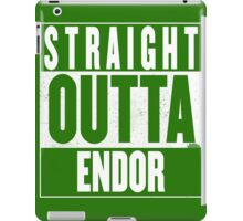 STRAIGHT OUTTA ENDOR iPad Case/Skin