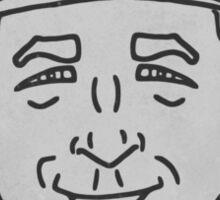 Cal Ripken Caricature Sticker