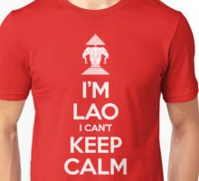 I'm Lao I Can't Keep Calm Unisex T-Shirt